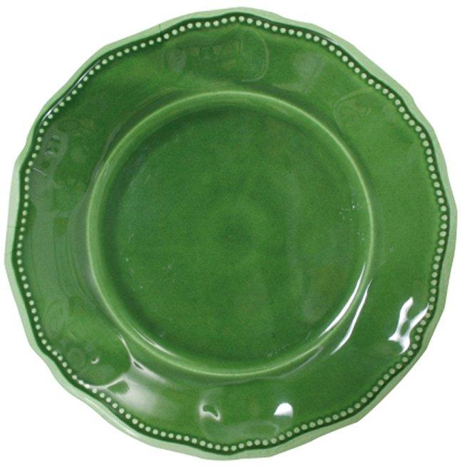 107PSG dinner plate green