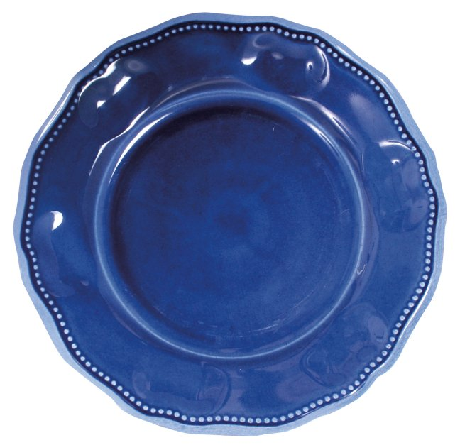Provence Solid Blue Dinner plate 11""