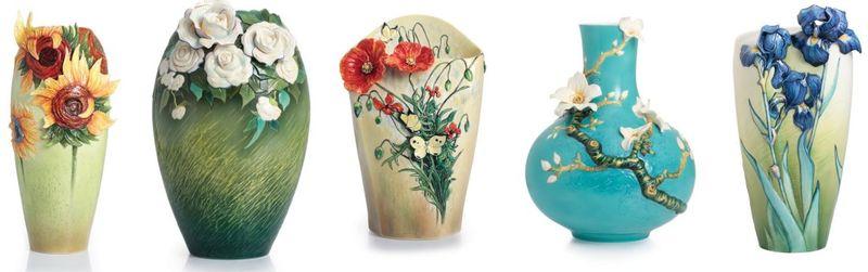 Franz Collection Porcelain Inspired By Van Gogh Distinctive Decor