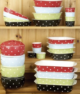 Spode Baking Days Polka Dot Dinnerware and Bakeware - Distinctive ...